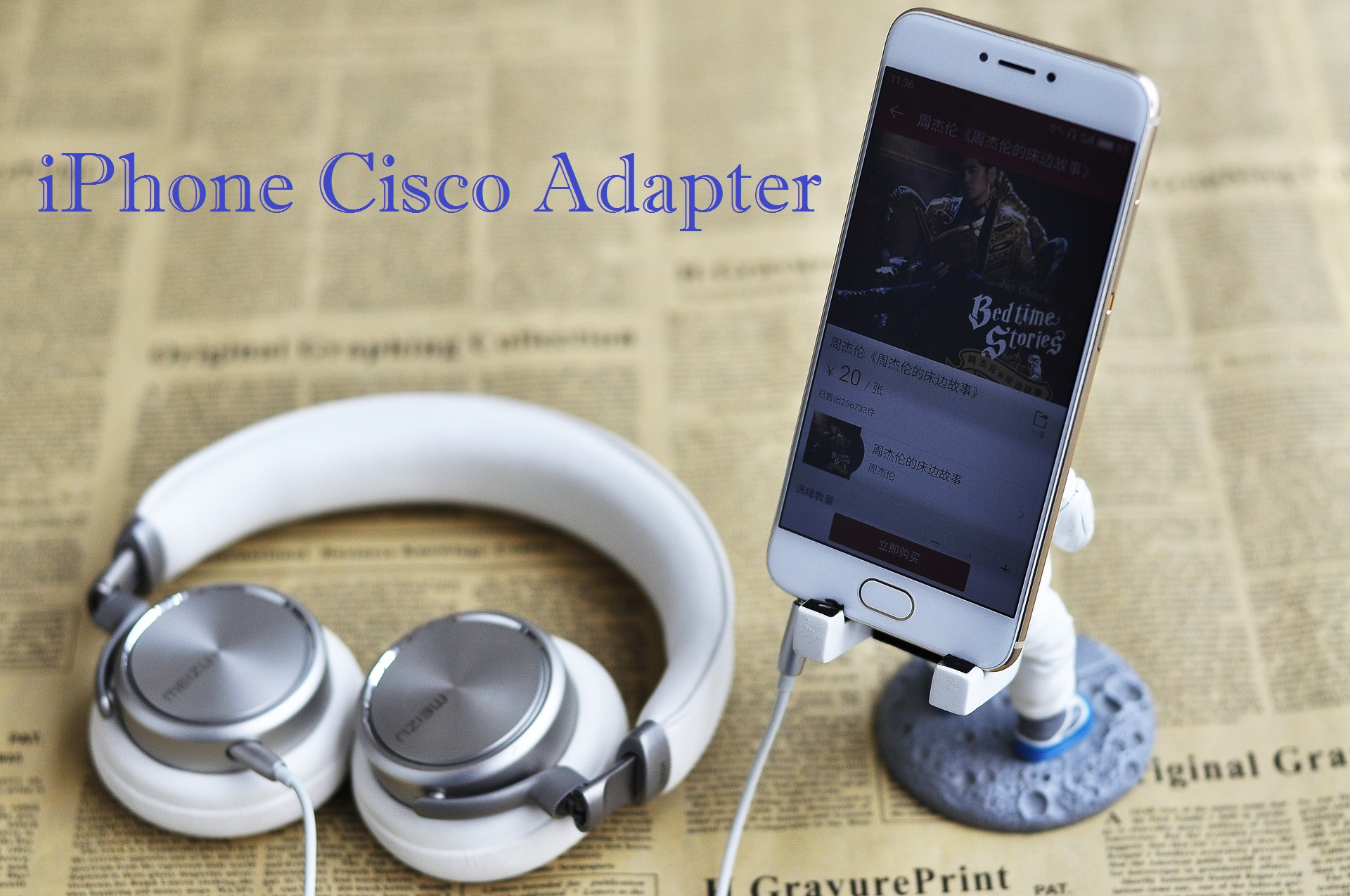 Cisco Headset Adapter for iPhone Headset