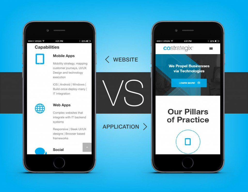 Mobile App versus Responsive Website: Web Promotion