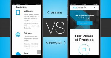 Mobile App versus Responsive Website