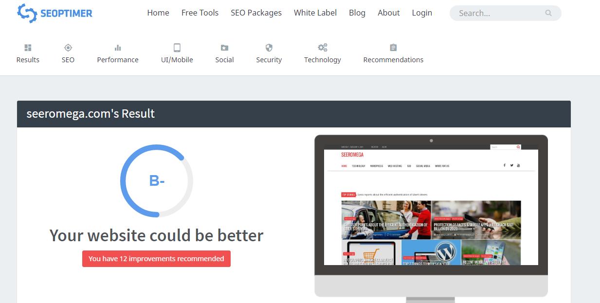 online website audit tools seo optimizer
