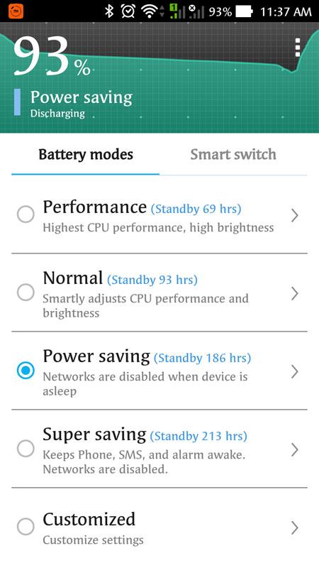 Use Power Saving Mode