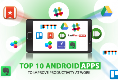 Top 10 Android Apps To Improve Productivity At Work