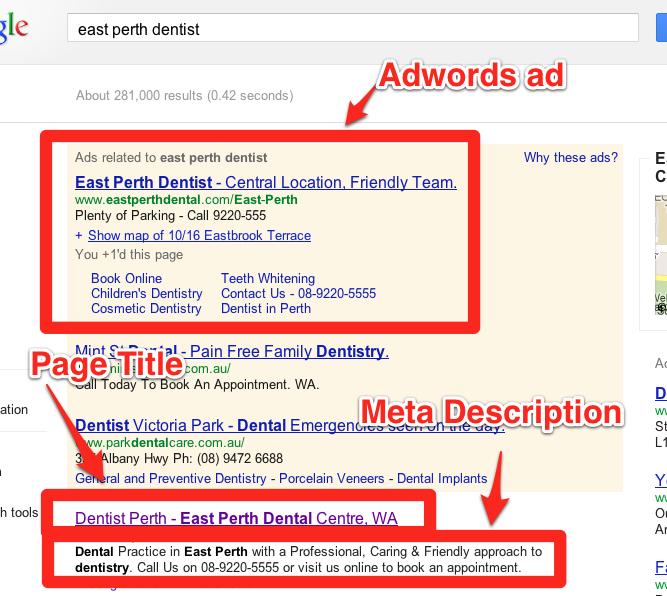 2. Page Title & Meta Description