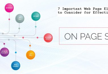 7 Important Web Page Elements to Consider for Effective On-Page SEO
