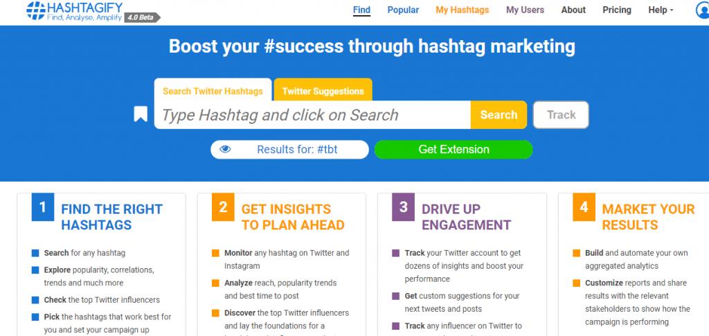 Hashtagify-Hashtag Generator Tools for Instagram