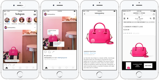 Tags For Easy Shopping-Instagram Features