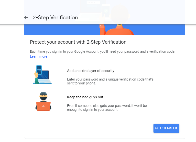 Two-step Verification-Tips to Secure your WordPress Website from Hackers