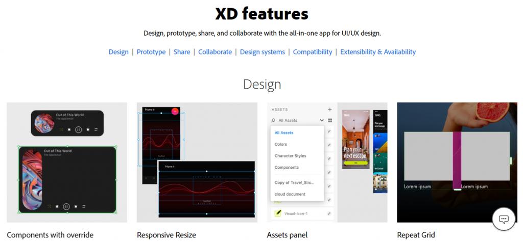 Adobe Experience Design-Mobile App UI Design Tools