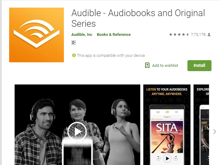 Audible-Audiobook App Player for Android