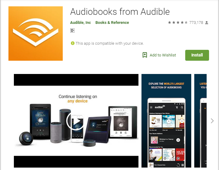 Audiobooks-Audiobook App Player for Android