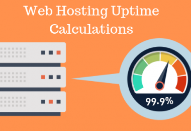 Web Hosting Uptime Calculations
