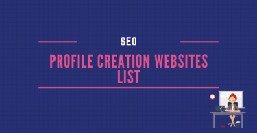 Top 1000+ High DA Profile Creation WebSites List