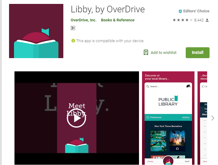 Libby-Audiobook App Player for Android