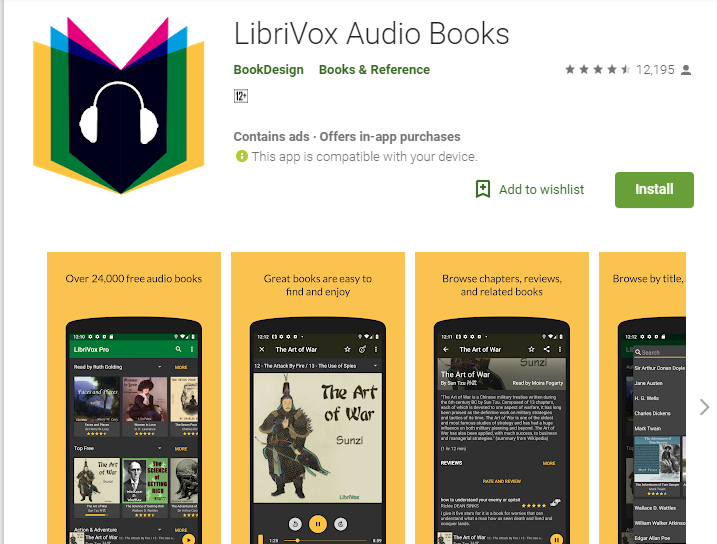 Top 10 Audiobook App Player for Android-Seeromega