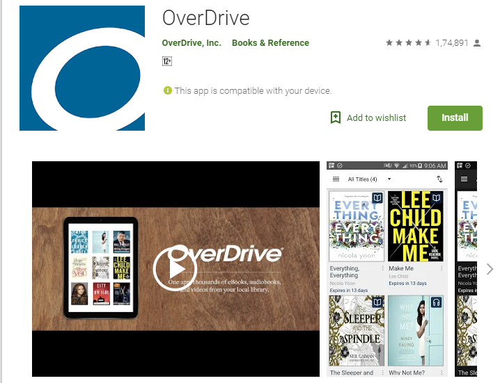 Overdrive-Audiobook App Player for Android