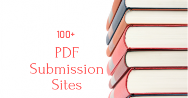 High DA 100+ Free PDF Submission Sites List
