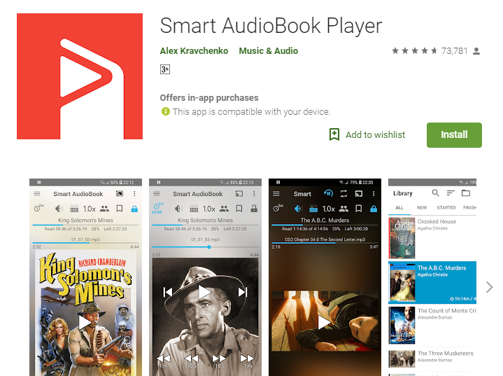 Smart Audiobook player-Audiobook App Player for Android