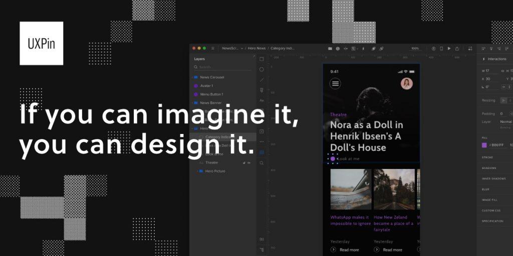 UXPin-Mobile App UI Design Tools
