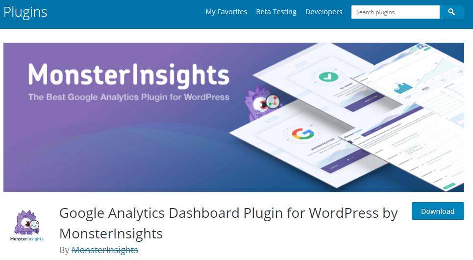 WordPress Plugins for SEO-Google Analytics by Yoast