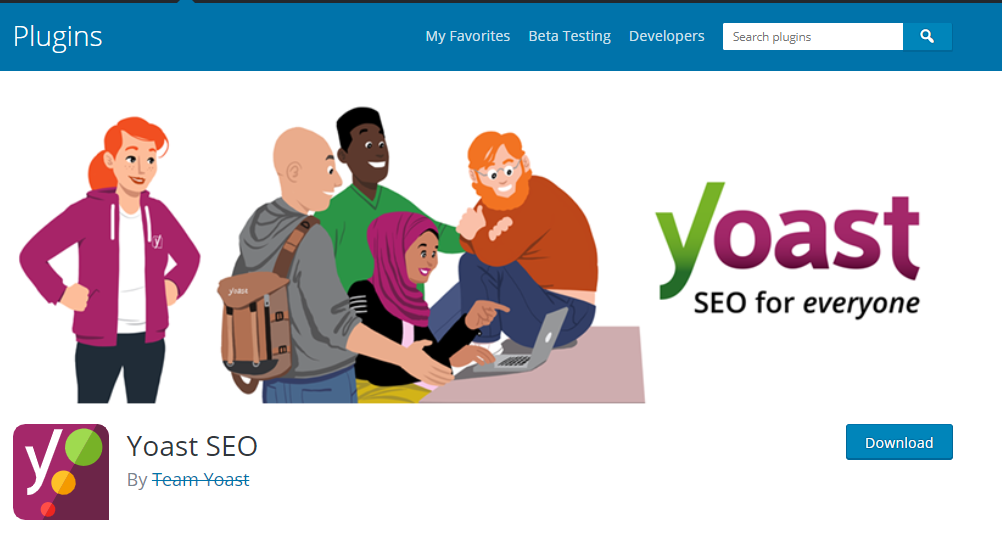 WordPress Plugins for SEO- Yoast SEO