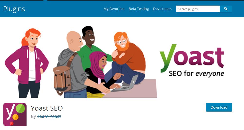 WordPress Plugins for SEO- Yoast SEO