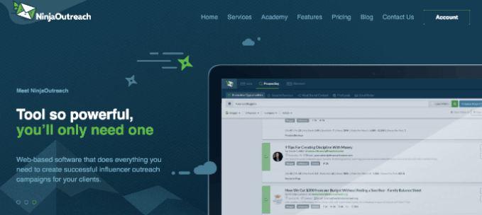 Ninja Outreach-Content Marketing Tools