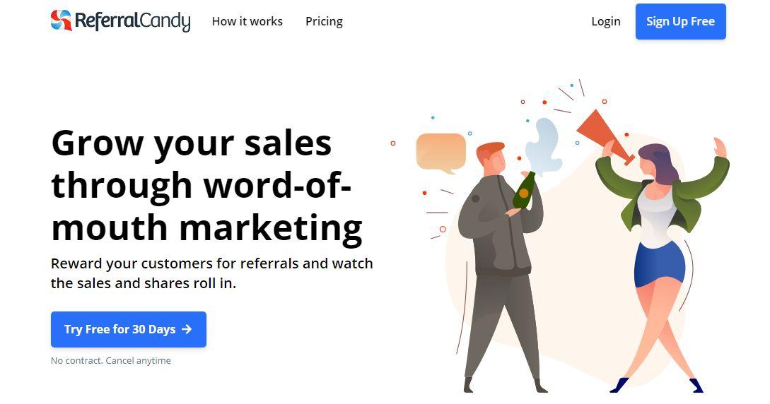ReferralCandy-Content Marketing Tools
