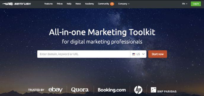 Semrush-Content Marketing Tools