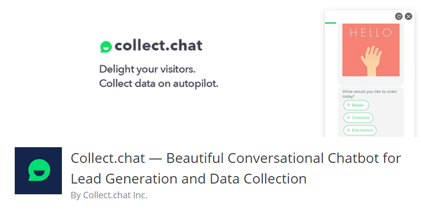 Collect.chat-WordPress Plugins you Need to Boost your Conversion Rate