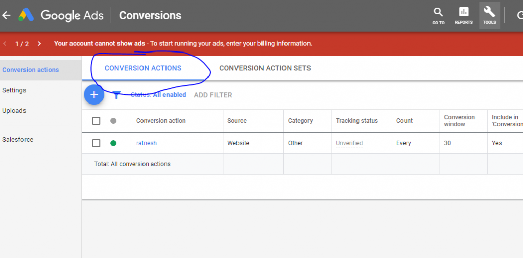 Analytics & Conversions By Google