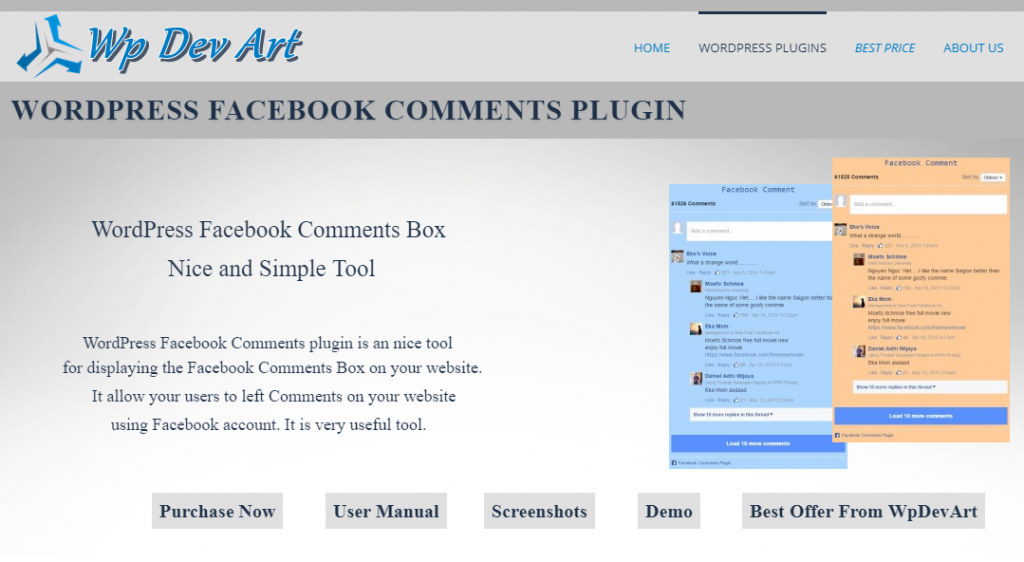 WpDevArt Facebook comments-WordPress Plugins you Need to Boost your Conversion Rate