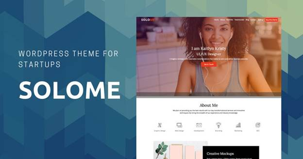 Solome-Top WordPress Themes for Business and Entrepreneur