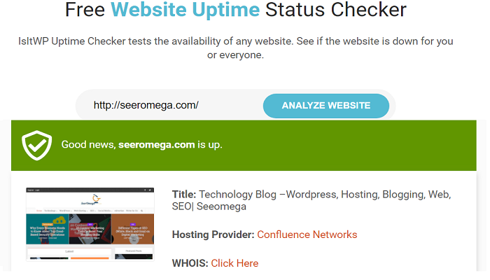 free website uptime checker-What is Web Hosting Uptime