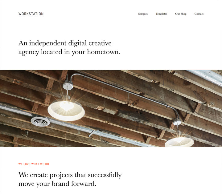 Workstation-Top WordPress Themes for Business and Entrepreneur