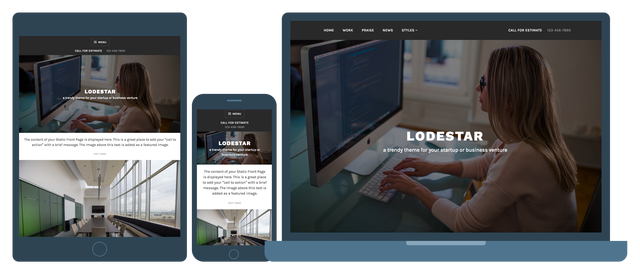 Lodestar-Top WordPress Themes for Business and Entrepreneur