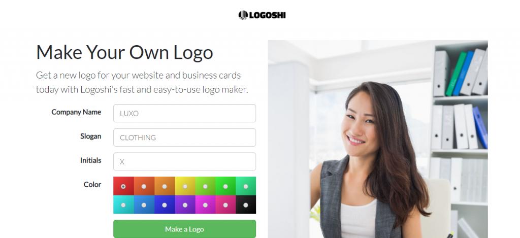Logoshi Free logo creation online
