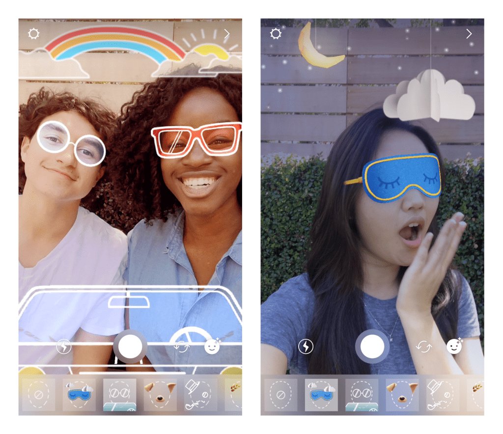 Instagram Face Filters Features