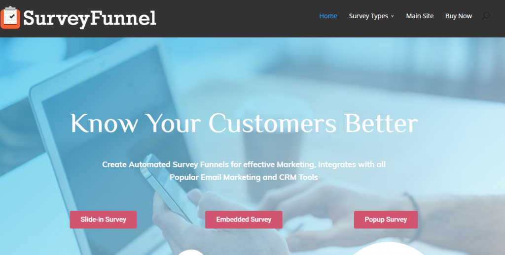 SurveyFunnel Plus-WordPress Plugins you Need to Boost your Conversion Rate