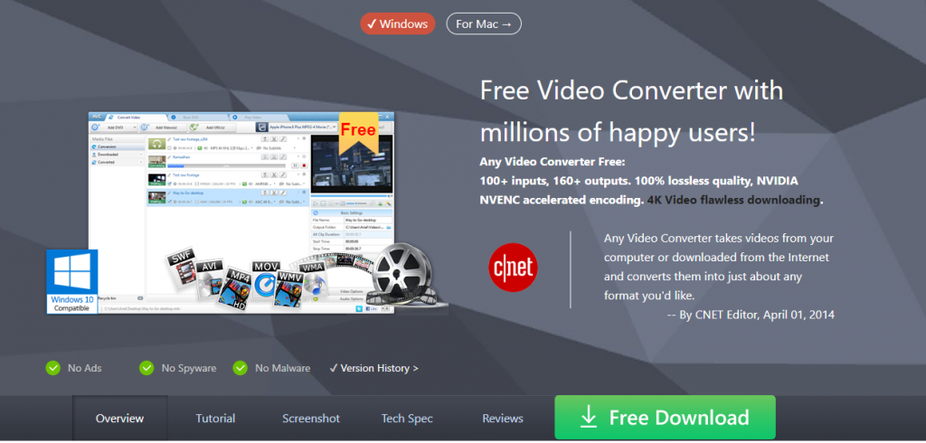 Any Video Converter-Best Video Downloader Tools