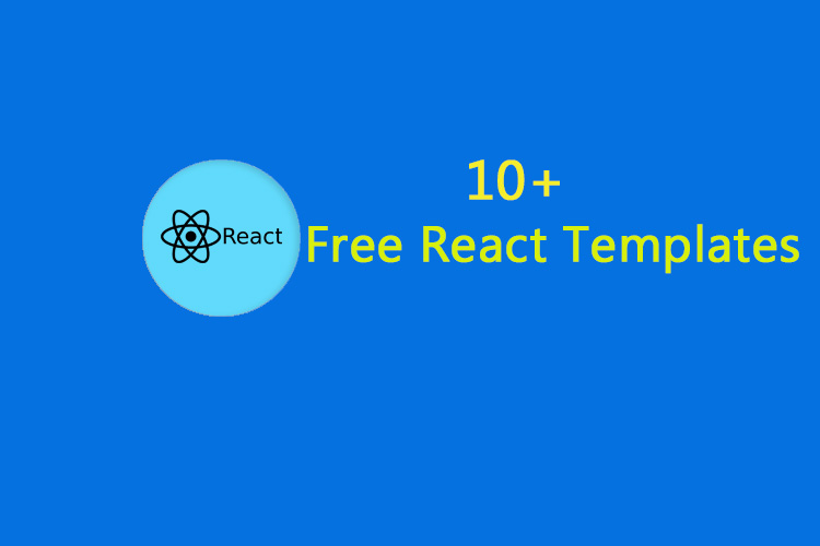10+ Free React Templates for Your Next Big Design Project