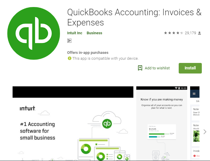 QuickBooks Accounting Invoices & Expenses