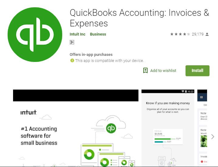 QuickBooks Accounting Invoices & Expenses