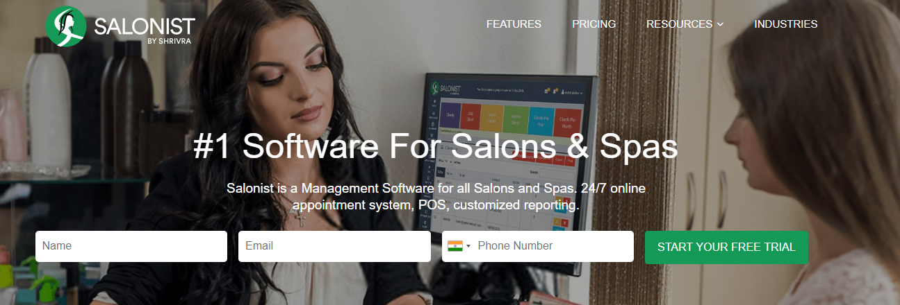 Salonist-Appointment Scheduling Software for Salons