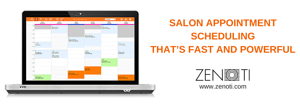 Zenoti-Appointment Scheduling Software for Salons