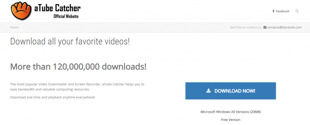 aTube Catcher-Best Video Downloader Tools