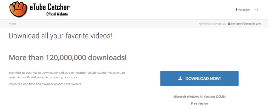 aTube Catcher-Best Video Downloader Tools