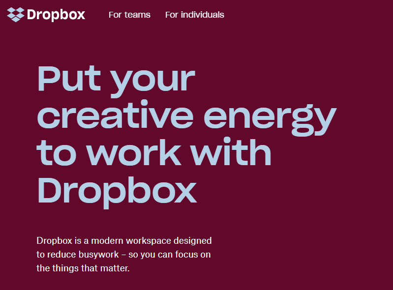 Dropbox - Secure File Sharing and Storage for your Business