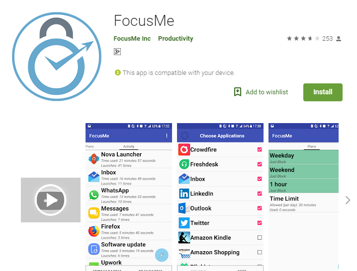 focus on me-Best 7 Productivity Apps for Students