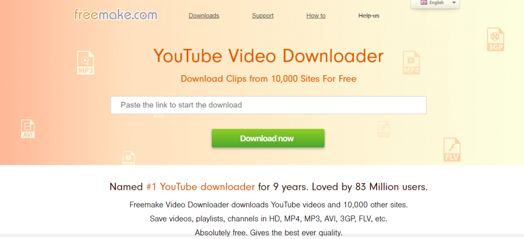 Freemake Video Downloader-Best Video Downloader Tools