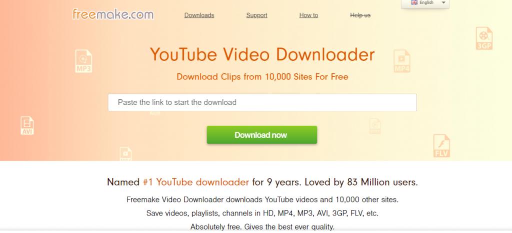 Freemake Video Downloader-Best Video Downloader Tools